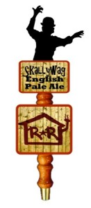 Skallywag English Pale Ale Tap Handle