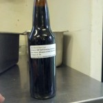 The first beer we bottled for the 2014 World Beer Cup